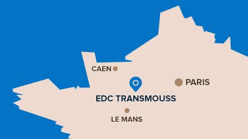 Plan d'accès à EDC Transmouss