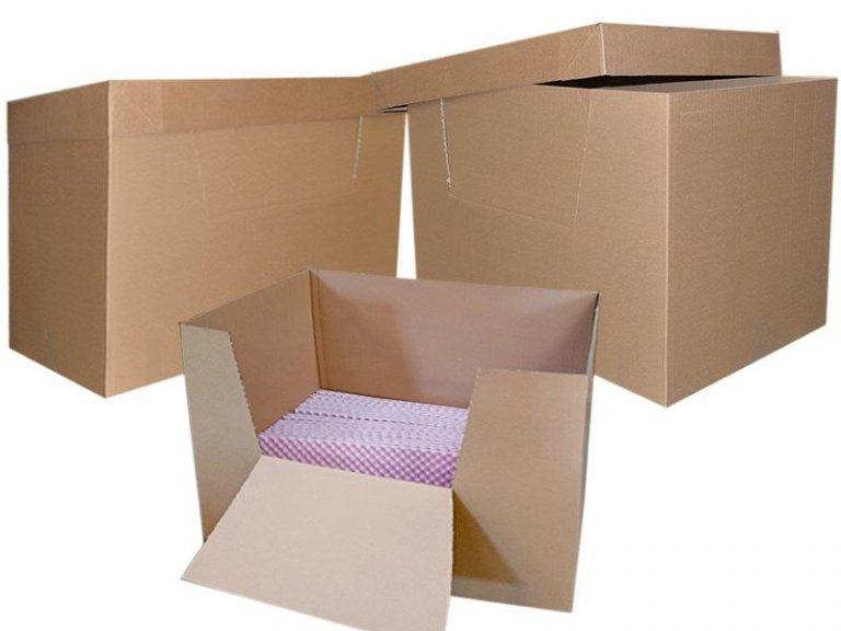 Les containers carton - Box palette