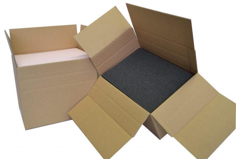 Caisse carton à hauteur variable