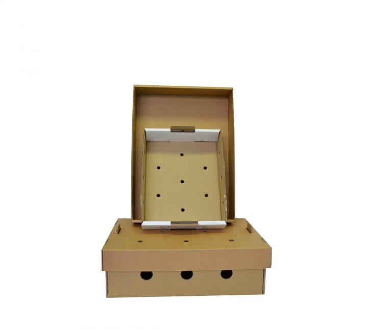 Les caissettes carton