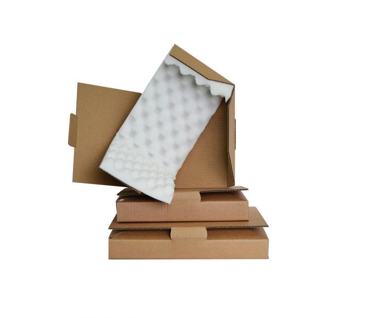 Boites carton découpées EcoMousse