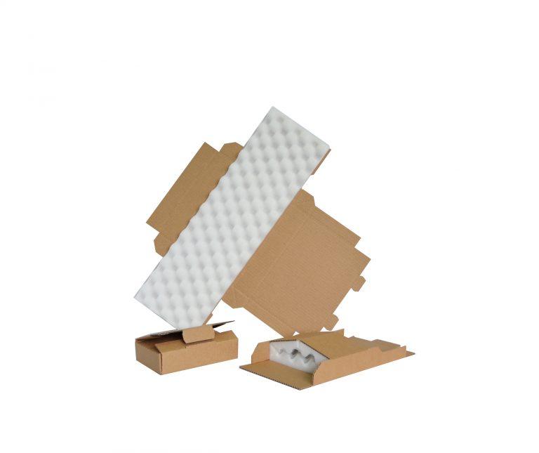Les boîtes découpées mousse