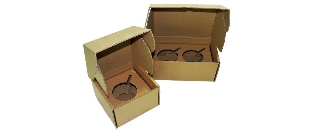 Boite carton à mugs