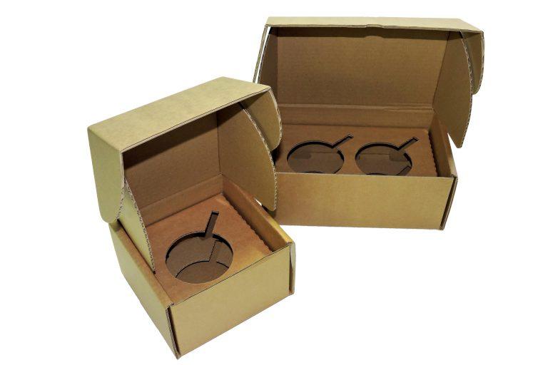 Boite carton pour mugs