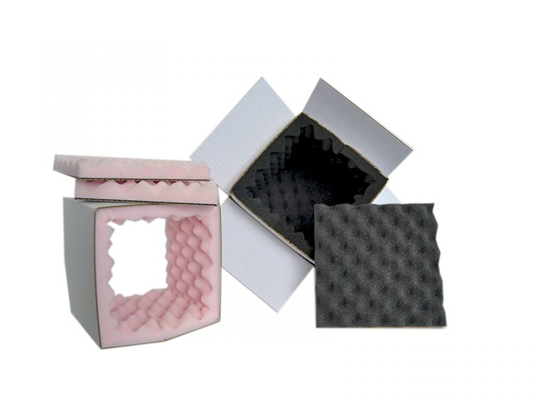Box Mousse protection carton