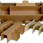 Calage carton sur mesure
