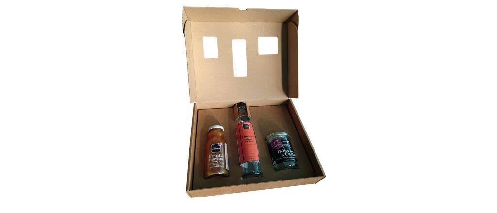 Emballage carton pour bouteilles