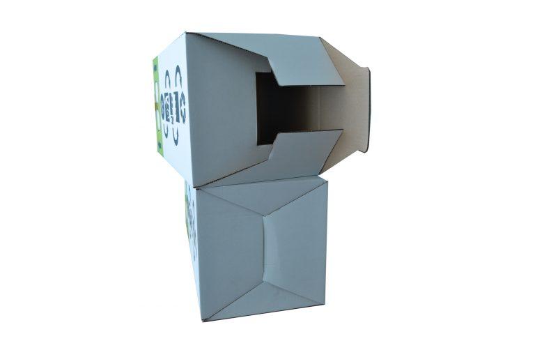 Les caisses carton à fond semi-automatique