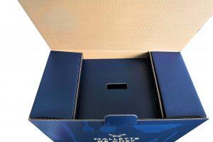 Expérience déballage boite imprimée quadri