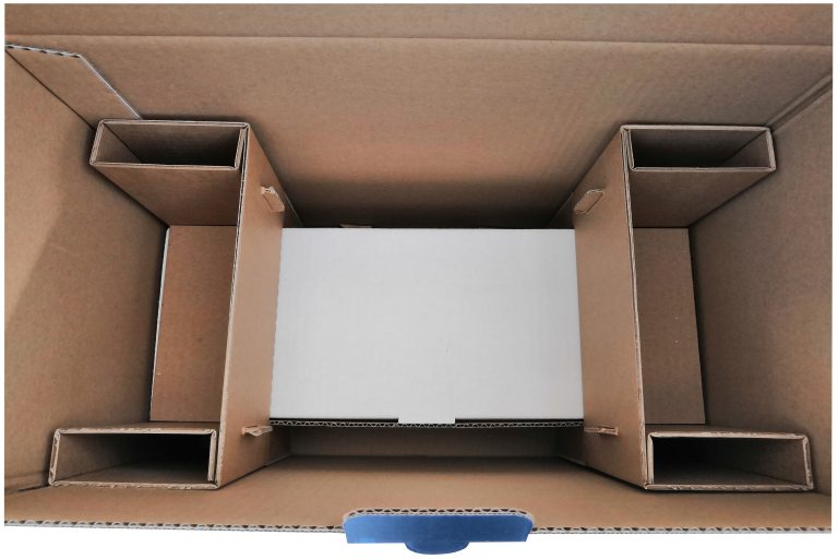 Calage intégré pour boite imprimée en quadri