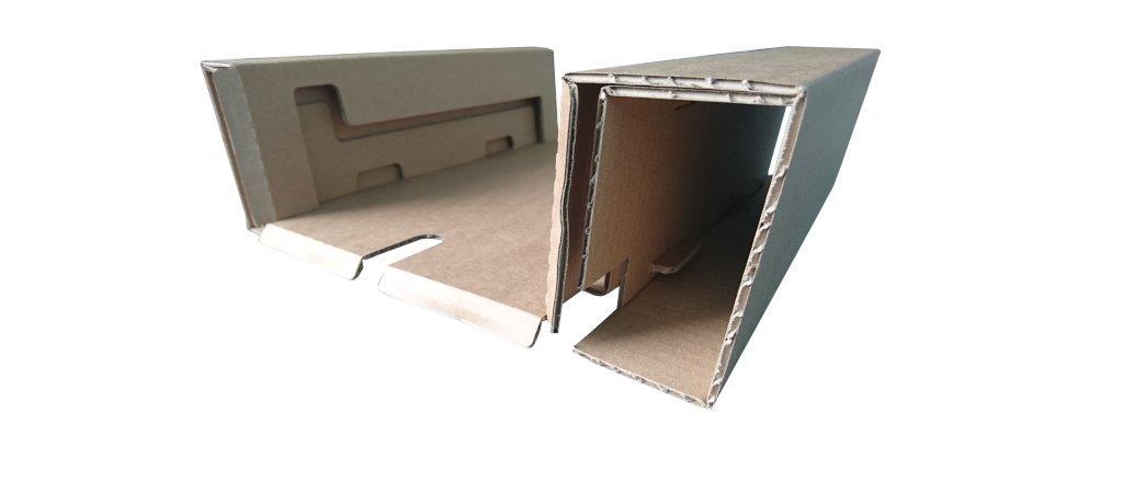 Calage carton électronique monté
