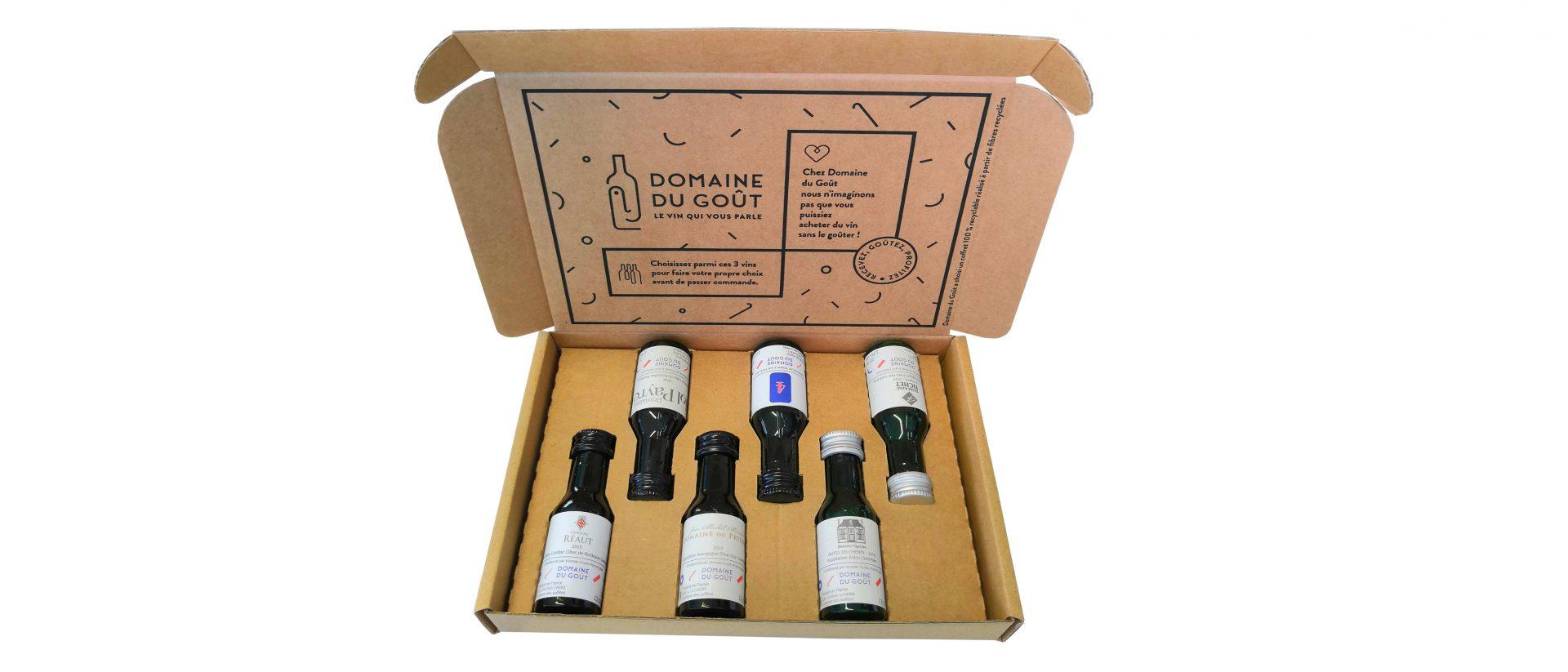 Boite découpée Vinottes