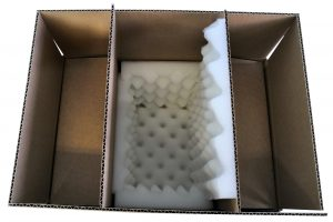 Emballage prêt avant fermeture