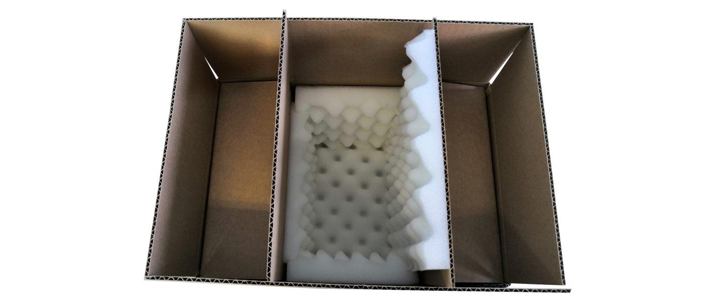 Emballage bonbonnière en verre