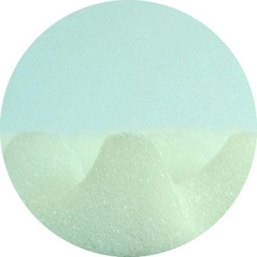 Mousse polyuréthane alvéolée blanche