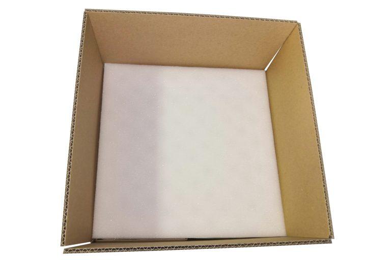 Box mousse avant fermeture
