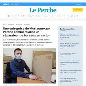 Article de presse Actu.fr du 20 mai 2020