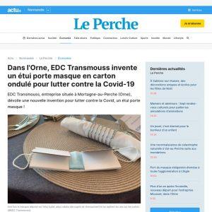 Article de presse sur EDC Transmouss - Actu.fr du 16 septembre 2020